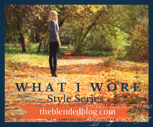 What I Wore Style Series:  Wednesdays in September