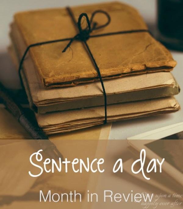 Sentence a Day, 8.2017