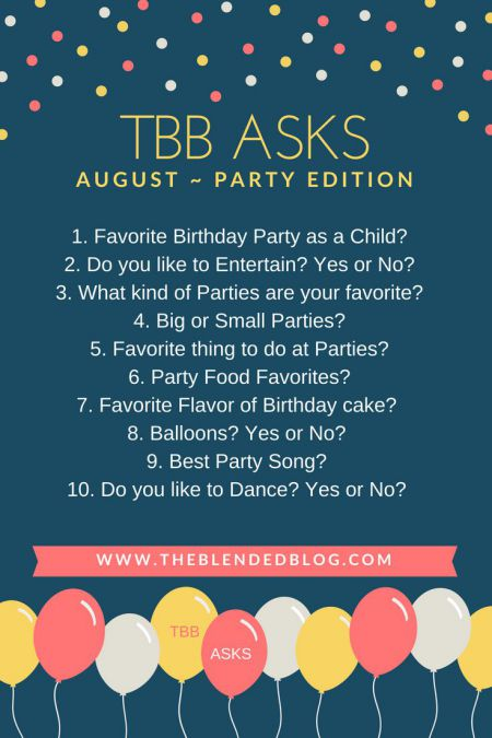 10 Questions about Parties: TBB Asks