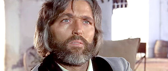 "Riccardo Pizzuti as Thompson, one of the men Django seeks in ""A Man Called Django"" (1972)"
