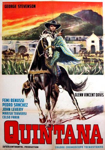 Risultati immagini per QUINTANA - DEAD OR ALIVE ( 1969 ) poster