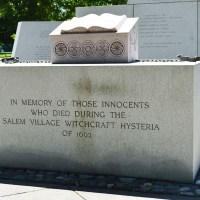 Visit Salem Witch Trials Sites- Part A