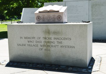 (Salem Village) Danvers Witch Trial Memorial