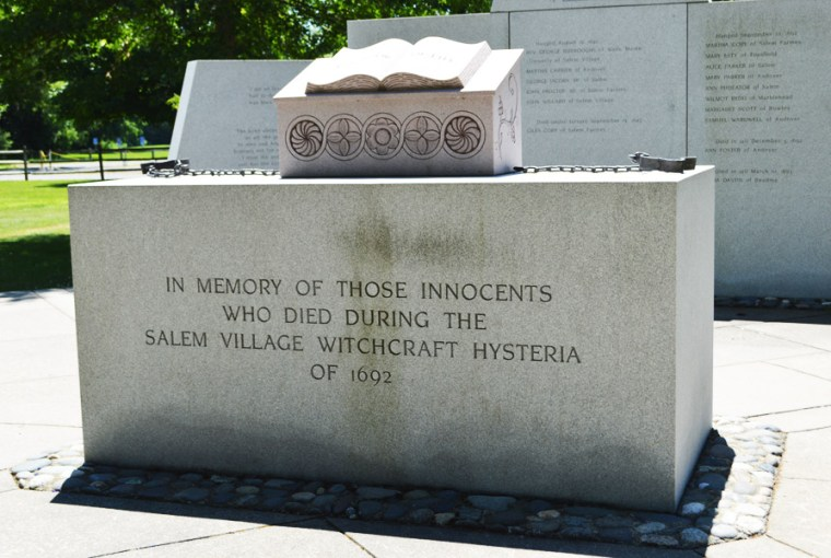 (Salem Village) Danvers Witch Trial Memorial