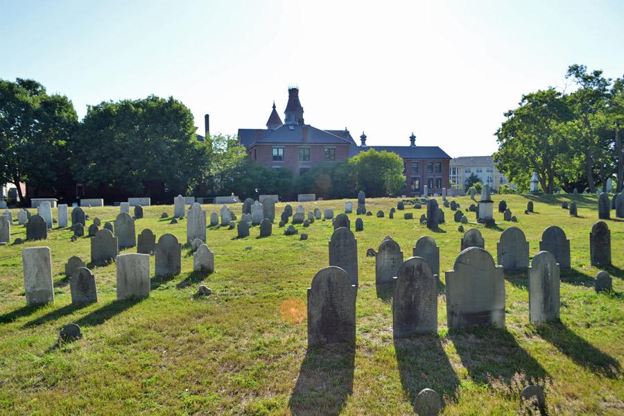 Howard Street Cemetery Salem Giles Corey