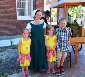 Salem girls colonial