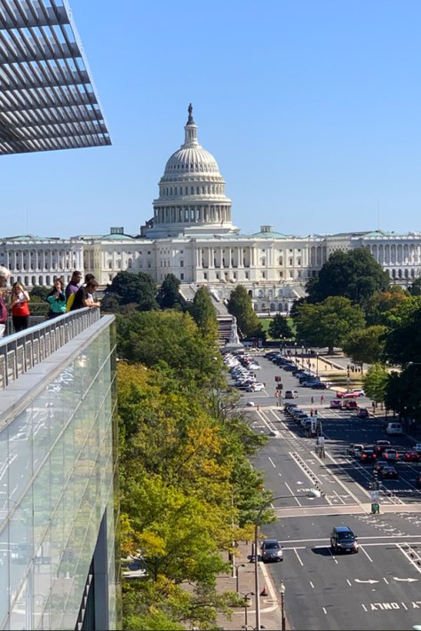 Newseum view of US Capitol