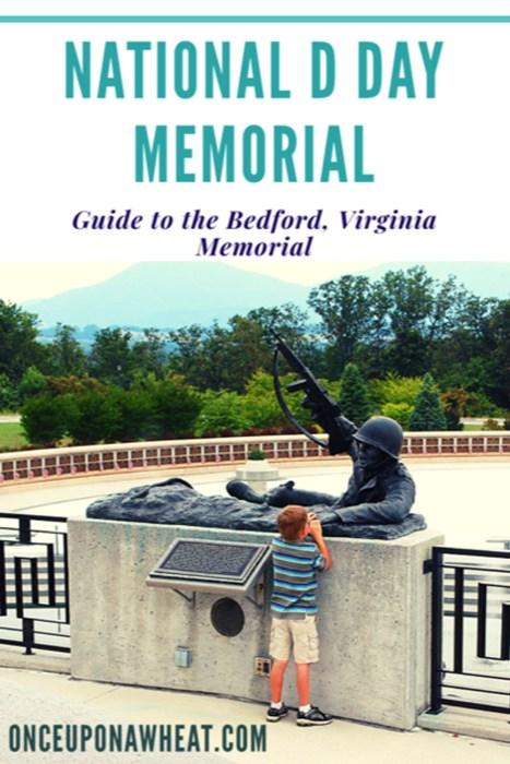 National D Day Memorial Bedford Virginia Pin