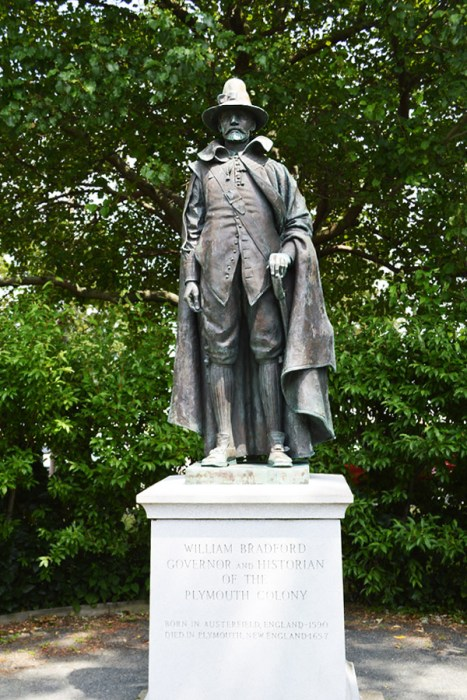 William Bradford statue