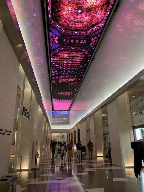 MOTB Grand Hall LED ceiling 4