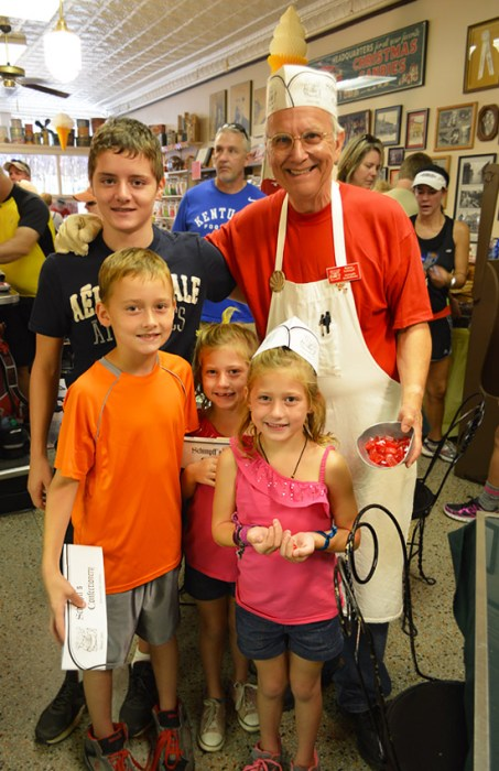 candy maker Warren Schimpff & Wheat kids
