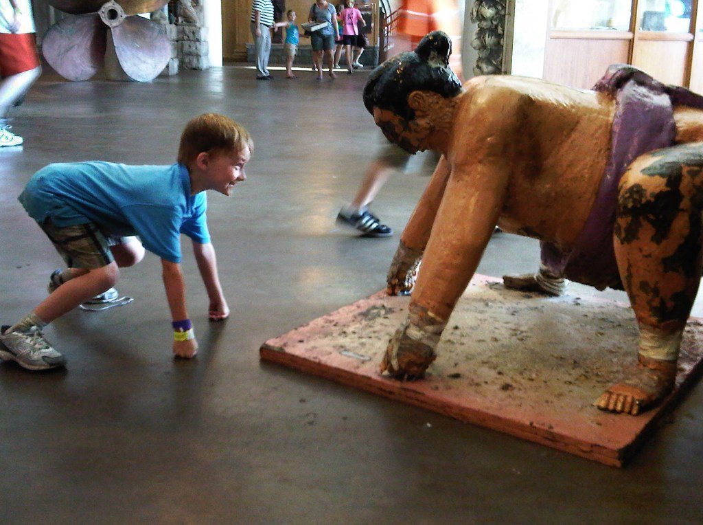 City Museum sumo