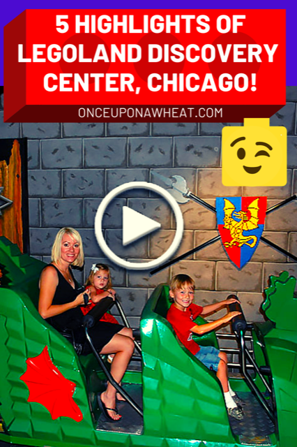 Legoland Discovery Center video pin