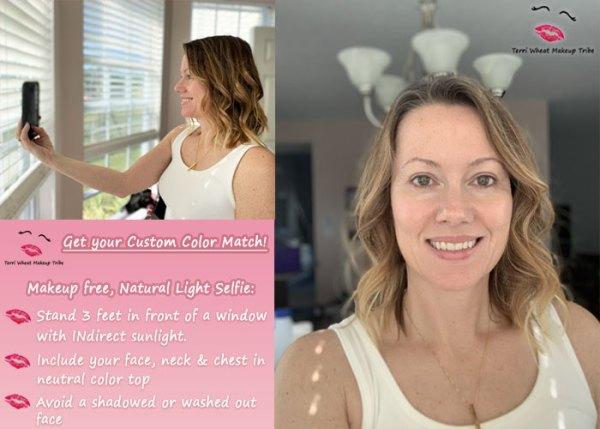 Makeup-free-selfie-instructions