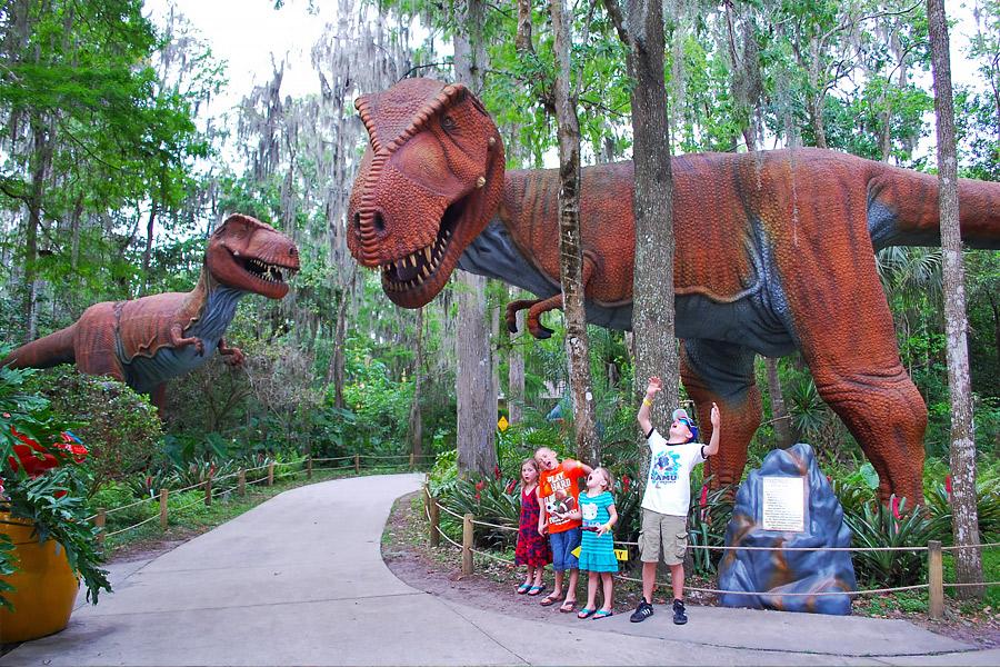 Dinosaur World T Rex