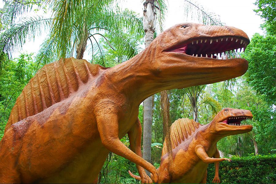 Dinosaur World dinosaurs
