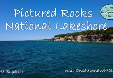 Pictured Rocks National Lakeshore Boat Tour from Lake Superior in UP Upper Peninsula, Michigan