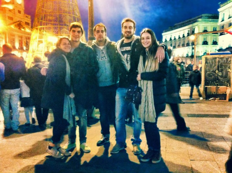 Friends in madrid