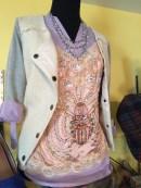 sequins & woven