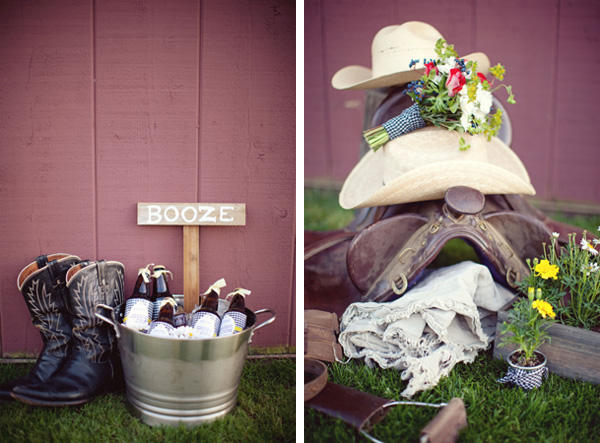 A Southern Wedding Welcome Table