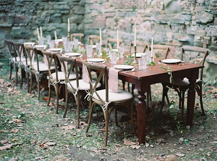 Simple And Elegant Outdoor Wedding
