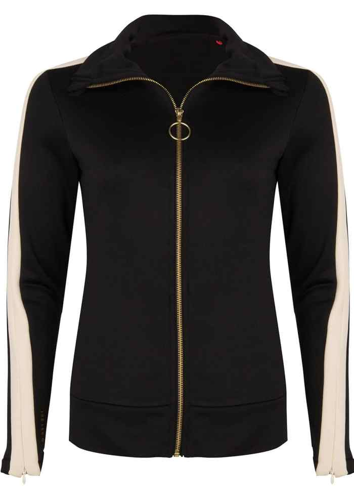 SAMI TRACK JACKET BLACK ONCE WE WERE WARRIORS TRACKSUIT WOMEN