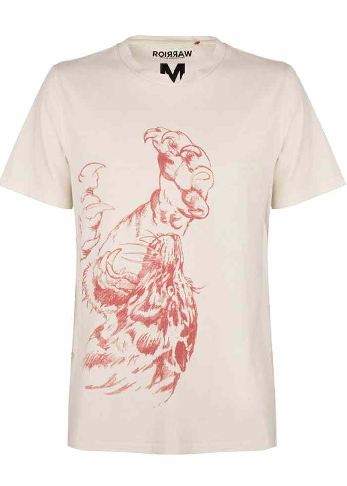 COCO TEE T-SHIRT ANTIQUE WHITE ONCE WE WERE WARRIORS