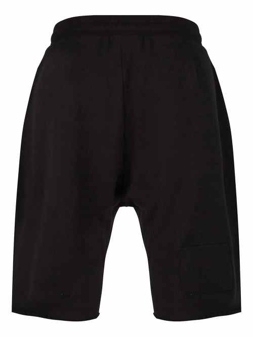 KOTI DROPPER SWEAT SHORTS BLACK ONCE WE WERE WARRIORS