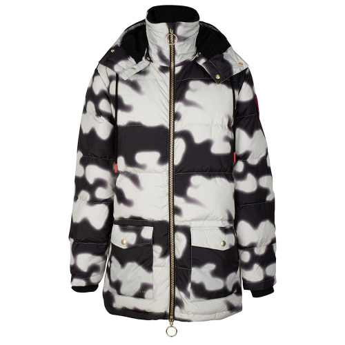 Soyo Camo PUFFA DOWN JACKET ANTIQUE WHITE ONCE WE WERE WARRIORS