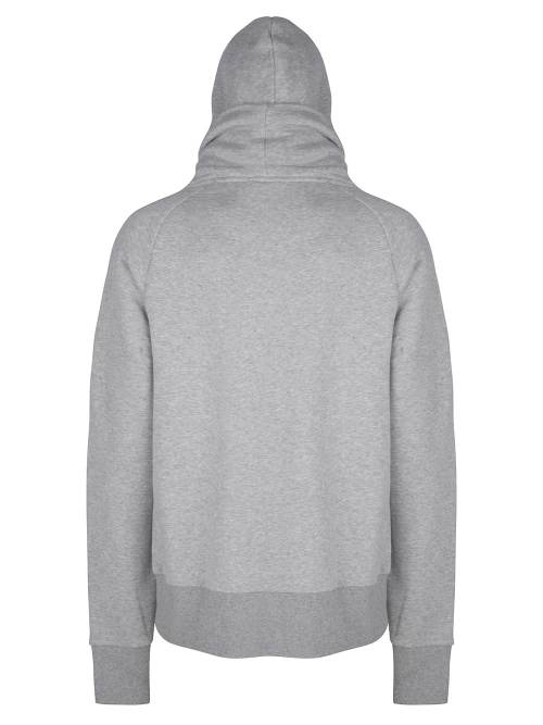 kawi cover hoodie grey melange once we were warriors
