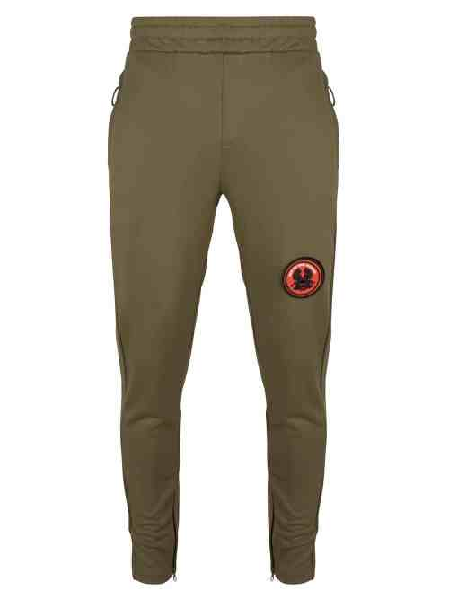 LEE TRACK PANTS OLIVE GREEN ONCE WE WERE WARRIORS