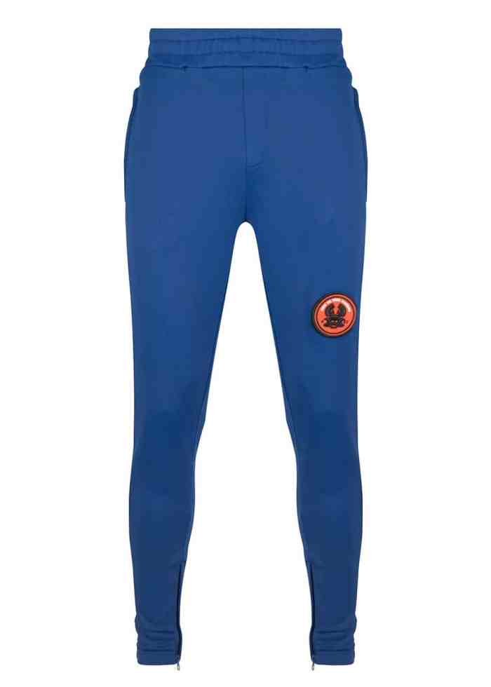 LEE TRACK PANTS SODALITE BLUE ONCE WE WERE WARRIORS