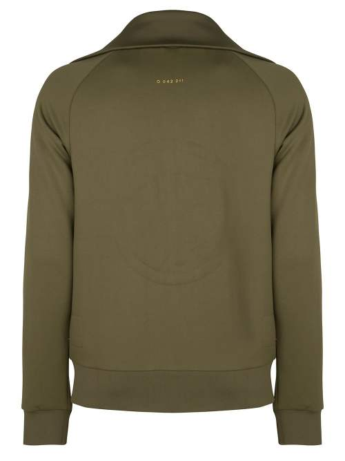 riku track jacket olive green once we were warriors