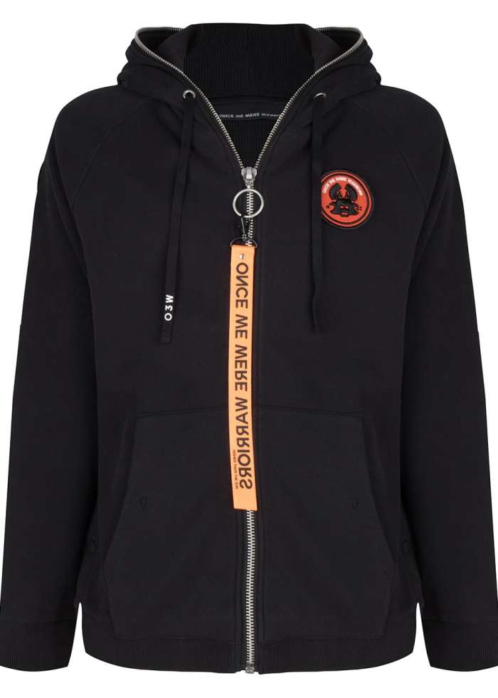 tokyo 2 hoodie black once we were warriors