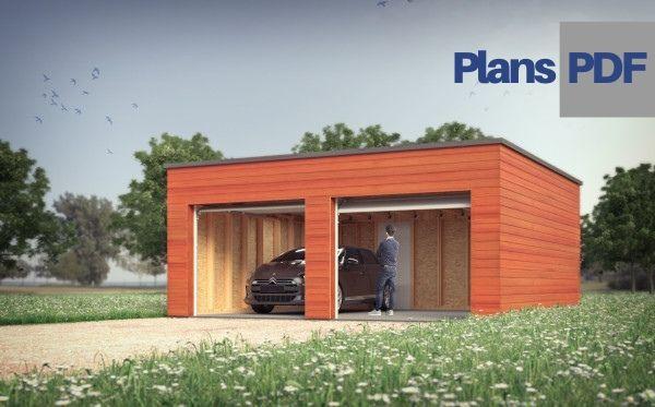 Le Plan Du Garage Double Ossature Bois Oncle Gustave