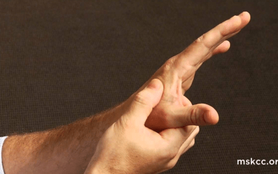 How to do acupressure on yourself to help with headaches and generalized pain.