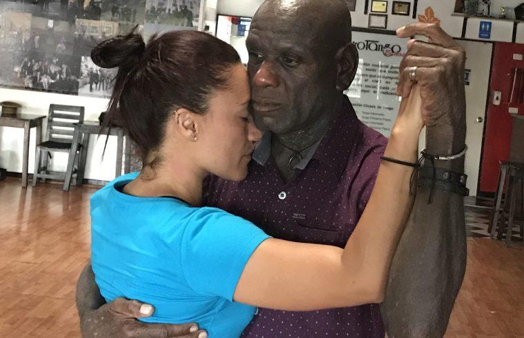 Greggo & instructor Jennifer Catalina Marín Palacio