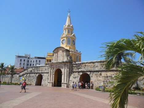 The colonial city of Cartagena de Indias