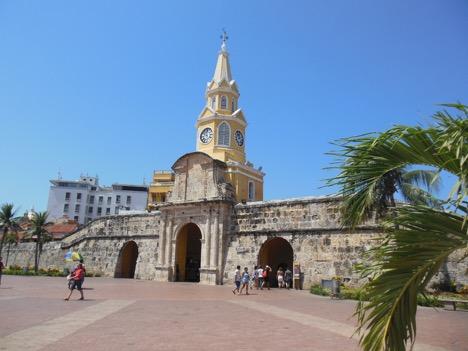 The colonial city of Cartagena de Indias