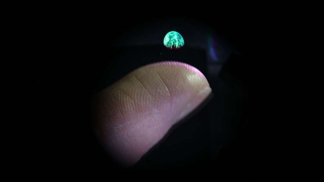 holograma 3d real