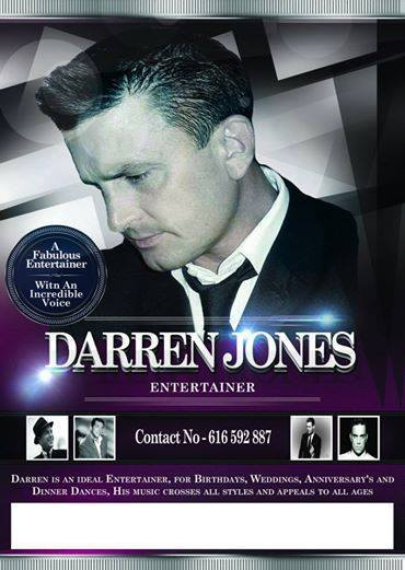 Darren Jones Singing Entertainer at Condado de Alhama