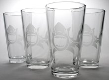 The Clover Bar have many glasses to give away