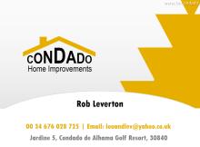 Condado Home Improvements - Rob Leverton