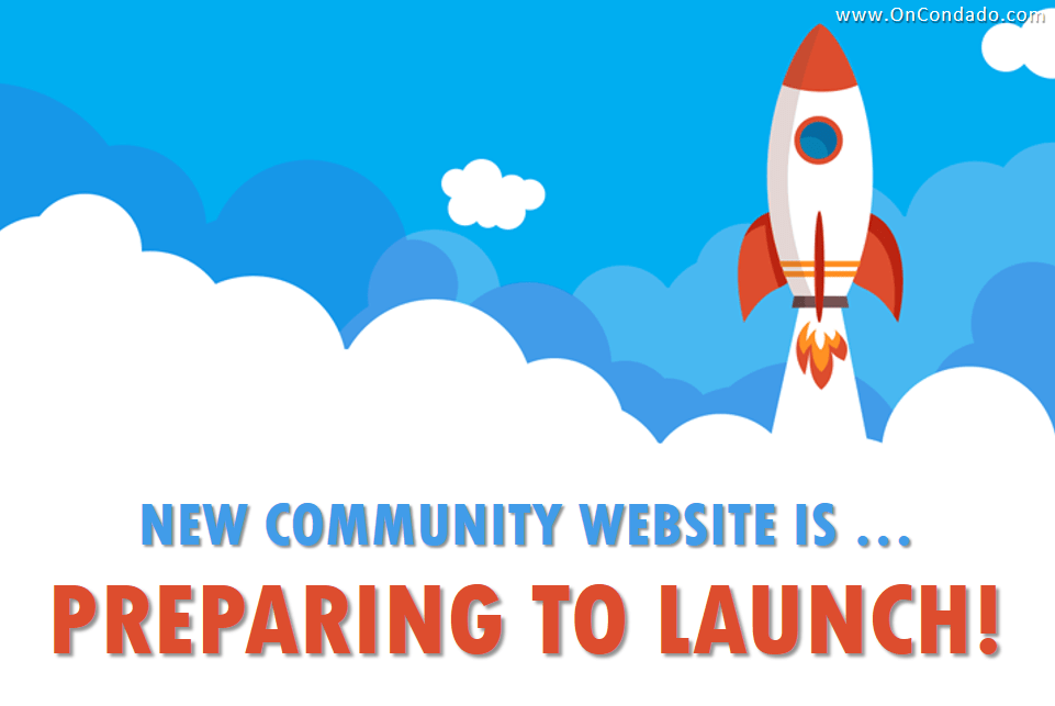 New Community Website Almost Ready To Launch!