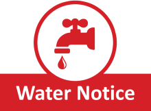 Notice of Cuts to the Water Supply