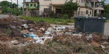 Basurero en La Habana