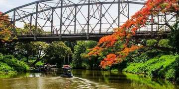 Triunfo Bridge / Photo: Carolina Vilches.