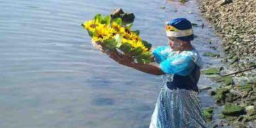 Ofrenda a Yemayá / Foto: Tomada de Radio Bahía