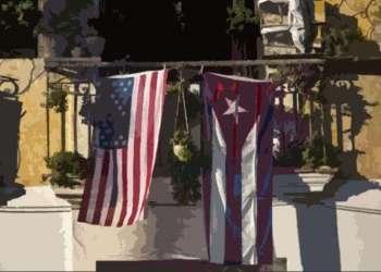 En un balcón de La Habana, a partir de una fotografía de la agencia AP.