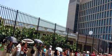 According to Cuban parties if the Cuban Adjustment Act to be repealed, Cubans could get more tourist visas to USA, because the US Interests Section in Havana (SINA by its Spanish acronym) would not see them as suspects of illegally staying in America.